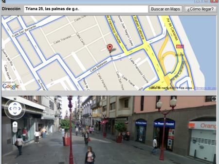 Callejero (Google Map)