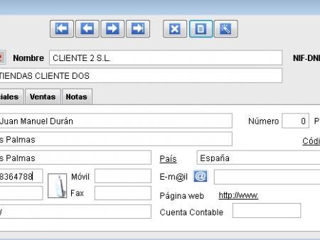 Ficha de Clientes